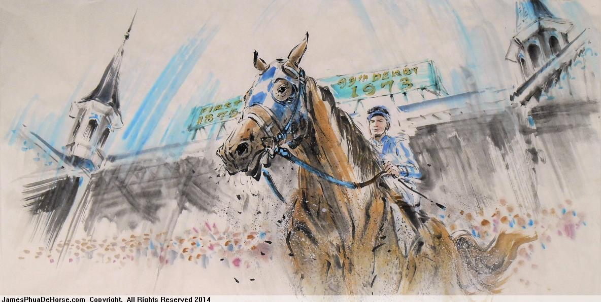 Secretariat at Racecourse Gallery