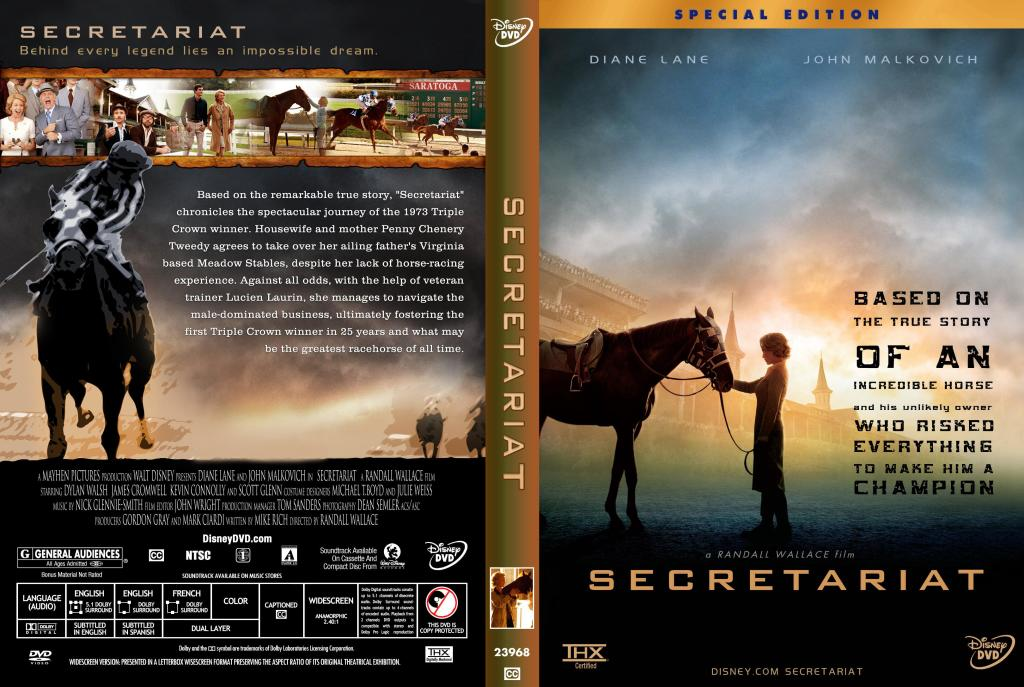 Secretariat is a 2010 biographical sports drama film produced and released by Walt Disney Pictures and directed by Randall Wallace.