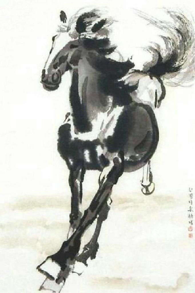 xu-beihong-a-galloping-horse-first-half-of-the-20th-century