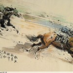 James Phua Chinese horse painting 瑞全中国水墨画马, From Brave To The Bravest (越战越勇 越冲越红)