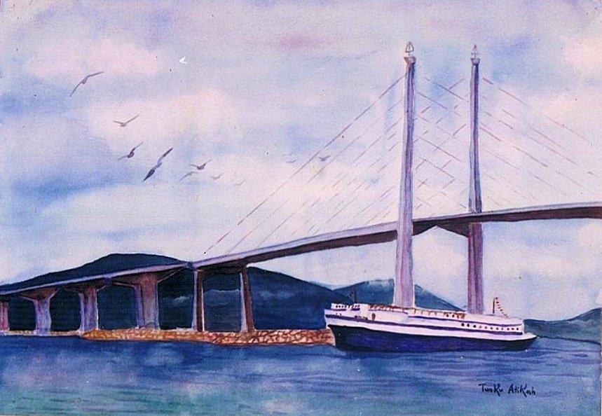 Tunku Attikah (Member of Royal Family), Watercolor