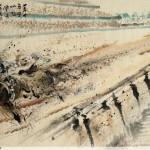 James Phua Chinese horse painting 瑞全中国水墨画马, The Unbeaten Record (盖世无双 叱咤风云) 96.5 x 178cm