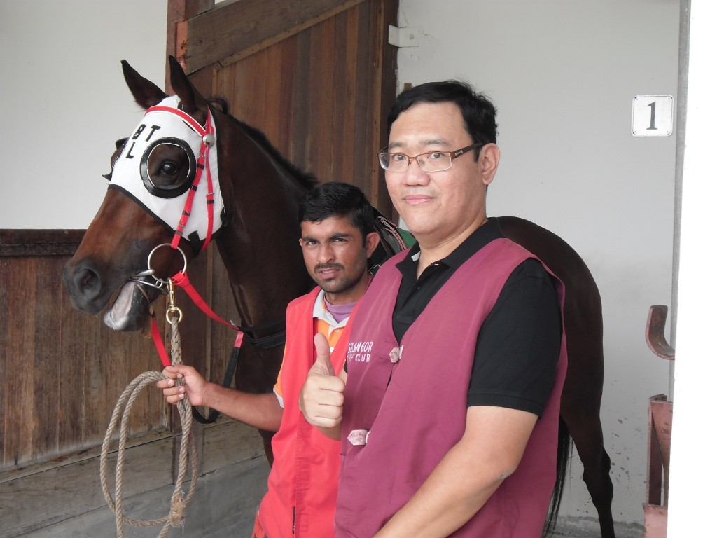 James Phua visited the Selangor Turf Club(STC) 01