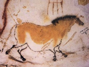 lascaux cave paintings (source: http://en.wikipedia.org/wiki/Lascaux)洞穴壁画