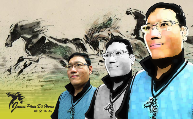 James Phua, the master of Chinese horse painting