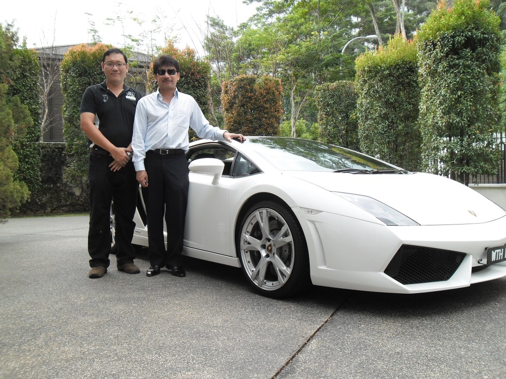 Tunku Laitham, a friend of mine who is a very humble entrepreneur.