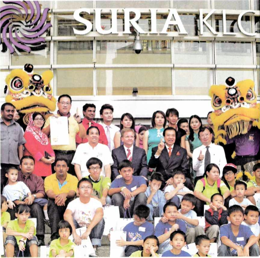 Phua's feat was witnessed by a packed crowd in Suria KLCC, who were also treated to other performances