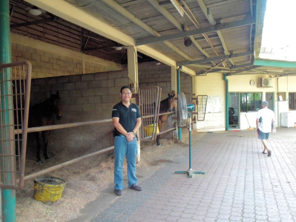 Richard Lines has 4 stables at Selangor Turf Club (STC) with more than 70 horses! Simply amazing!