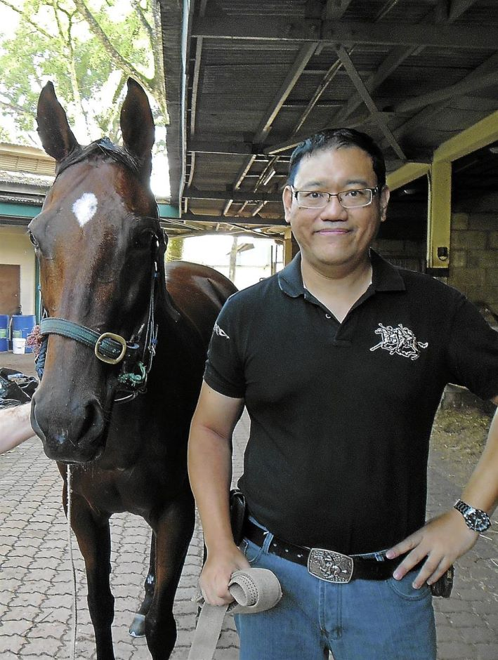 Chinese horse painting artist James Phua has been painting horses for the last 10 years. He did his first horse painting when he was five years old.