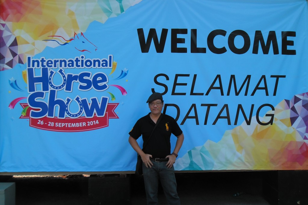 The International Horse Show 2014 which is organized by Selangor Turf Club Malaysian is really interesting and meaningful. I think this fantastic horse show would not be possible without the great efforts and dedication of the STC management and staff.